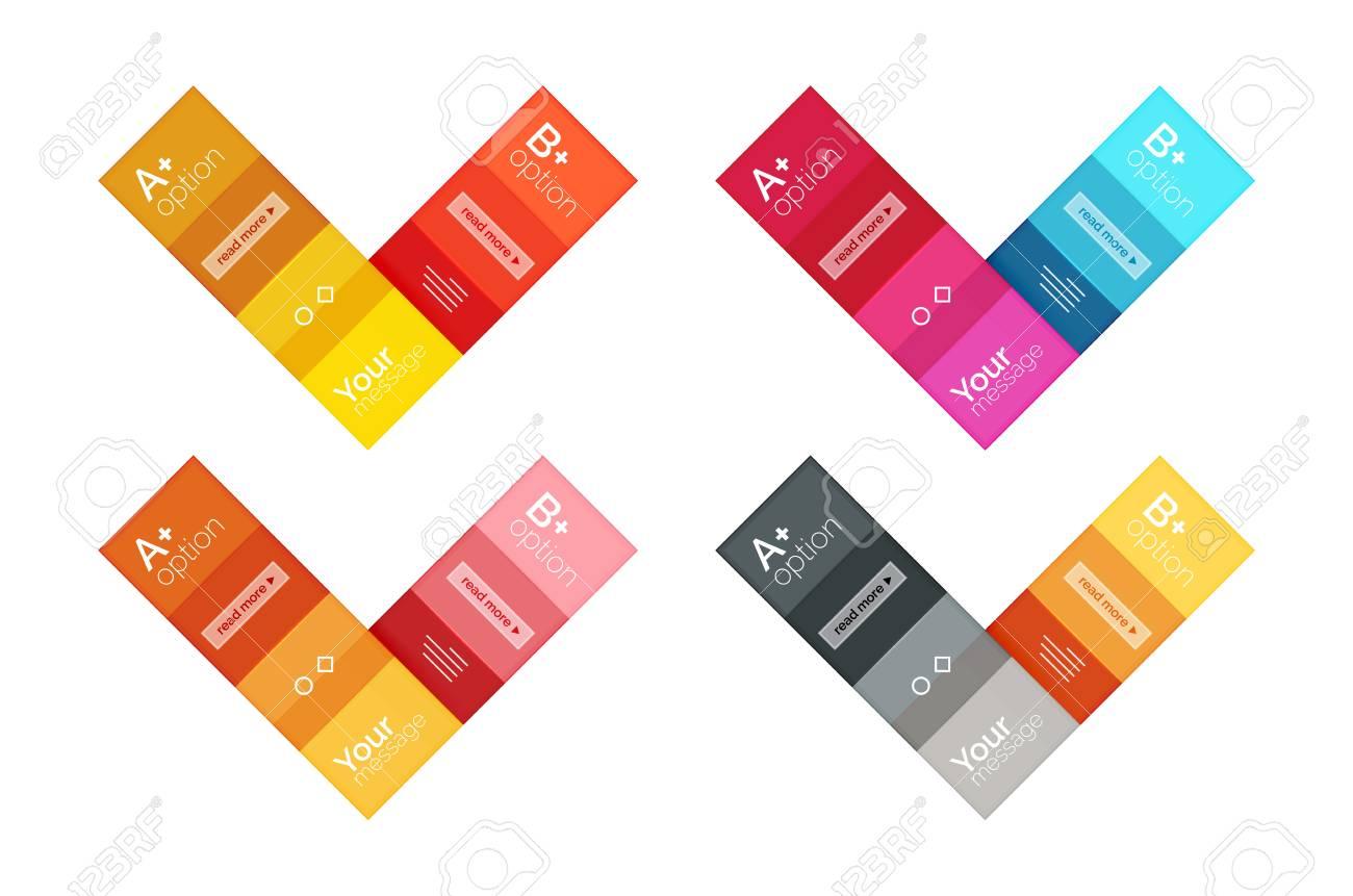 Square Et Rayures Templates Infographiques Géométriques. Géométrique ...