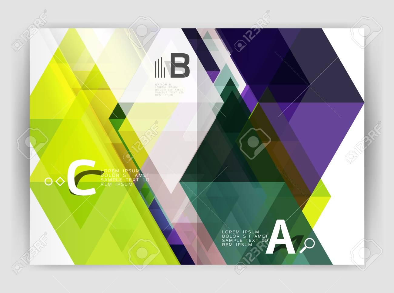 Moderne Business Broschüre Oder Broschüre A4 Cover Vorlage ...