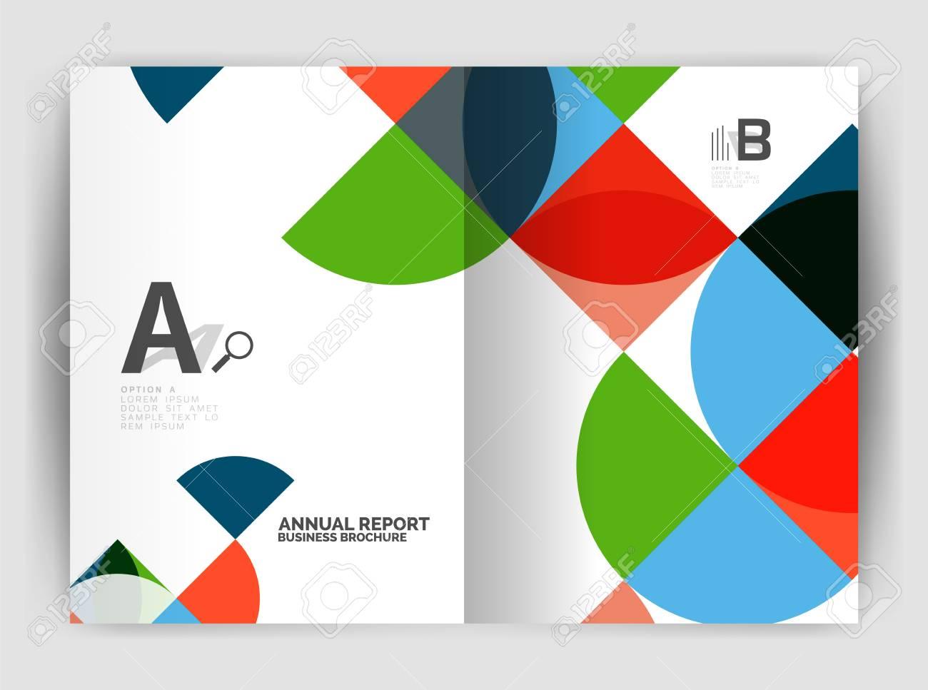 Resumen De Negocios De Diseño De Círculo Anual De Informe ...