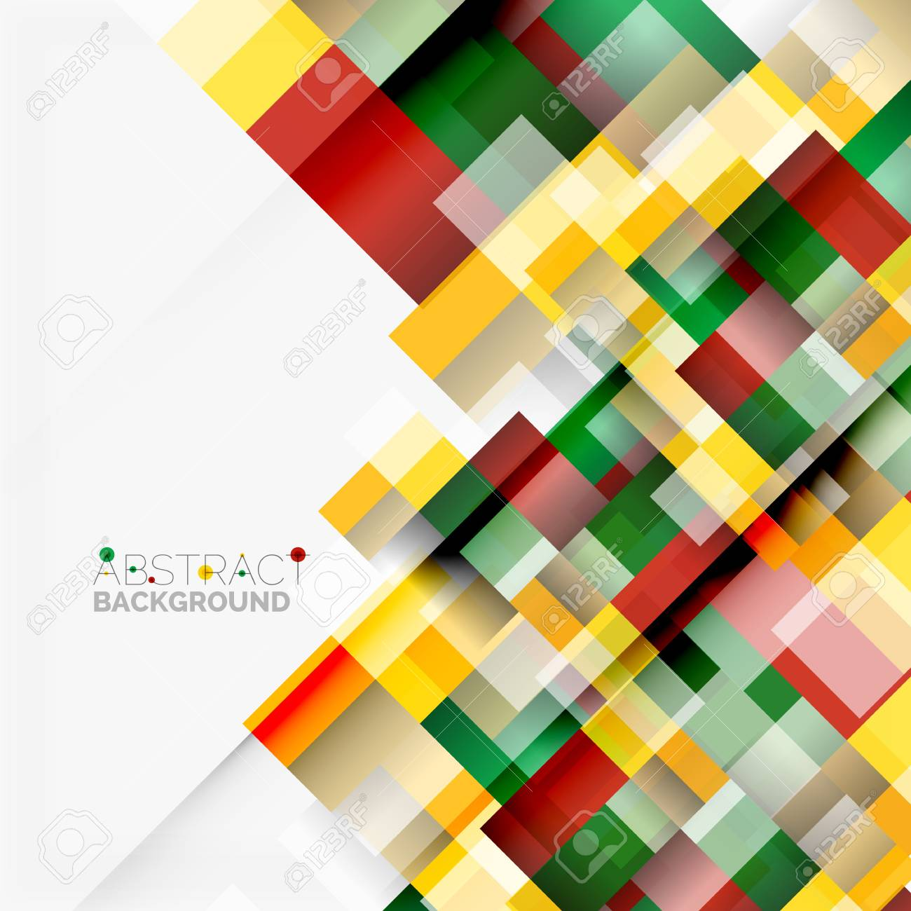 abstract vector blocks template design background simple geometric