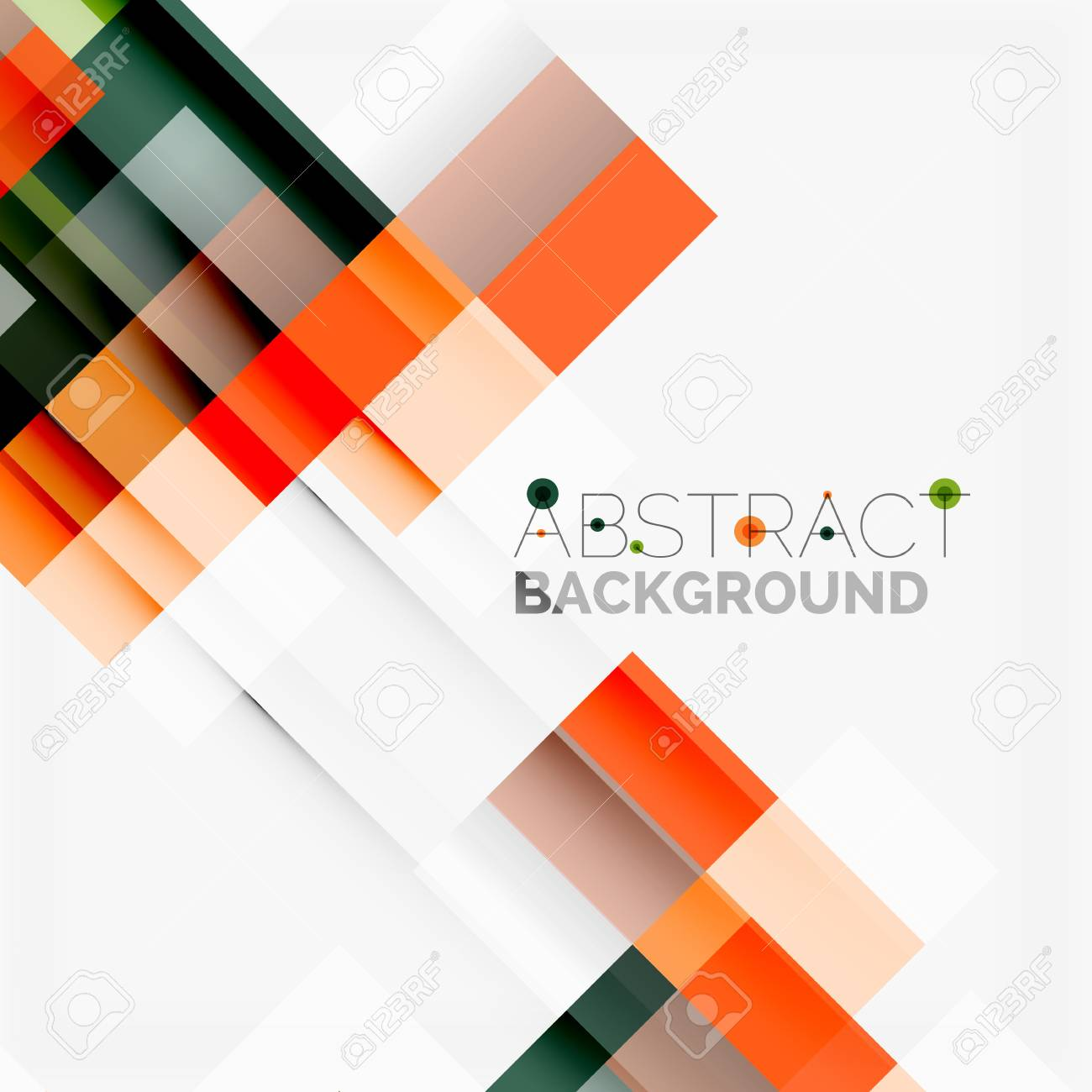 abstract blocks template design background simple geometric