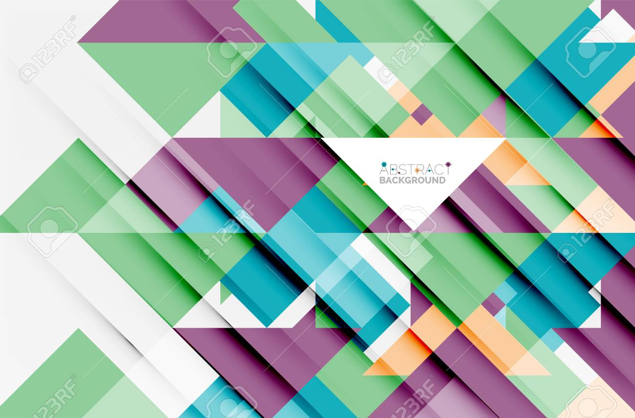 triangle pattern design background vector business or technology presentation template brochure or flyer pattern