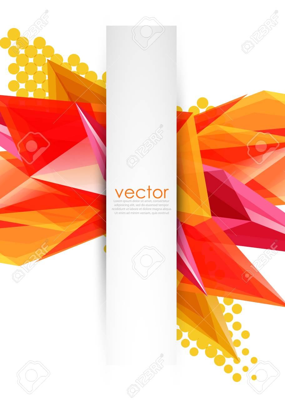 colored glass crystals template royalty free cliparts vectors and