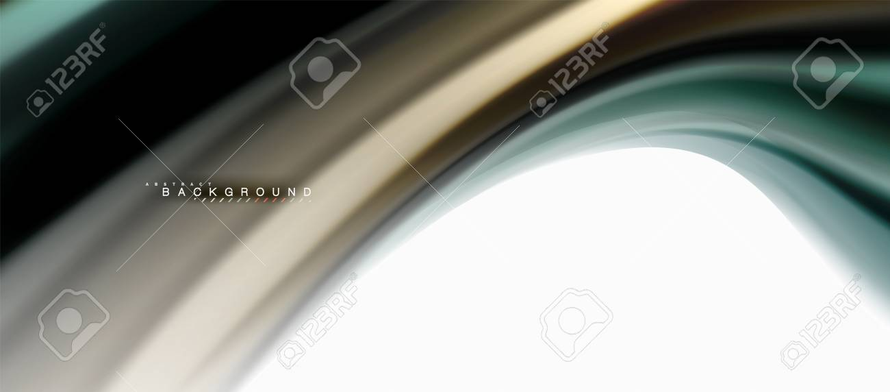 Fluid Liquid Mixing Colors Concept On Light Grey Background