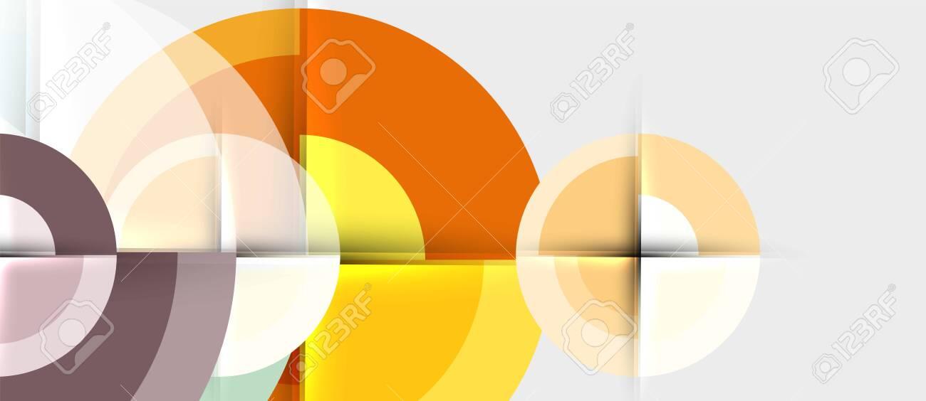 Circular geometrical design template - 123211239