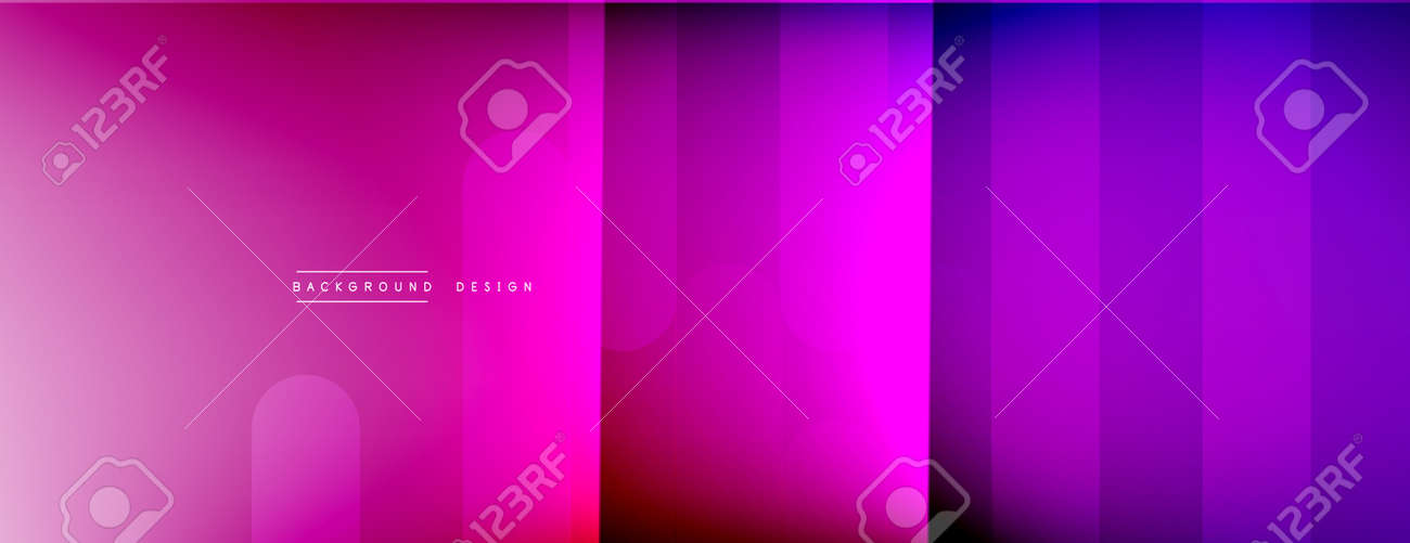 Dynamic lines abstract background. 3D shadow effects and fluid gradients. Modern overlapping forms - 168483890