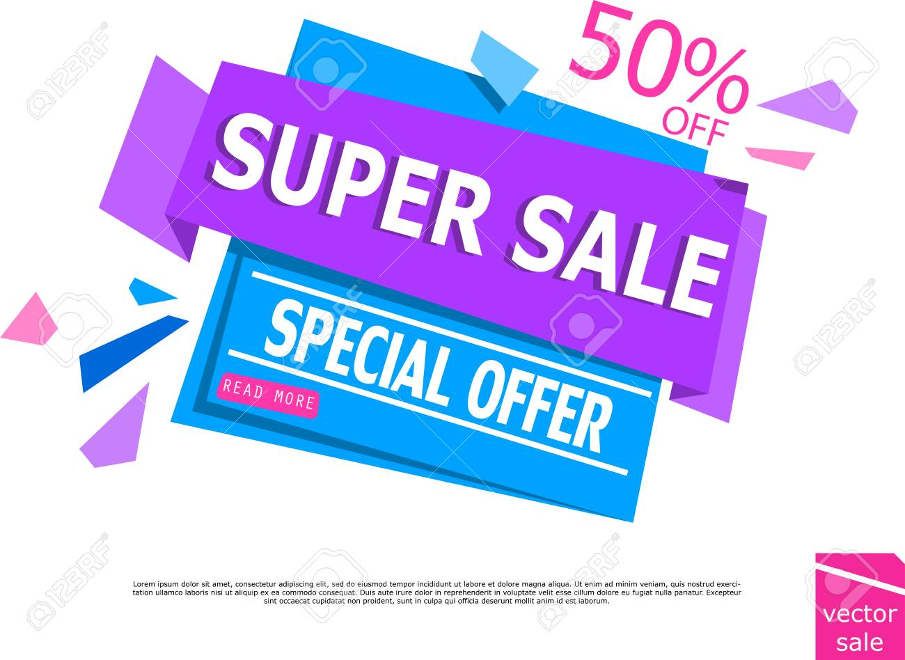 sale design sale template for your promotional brochure or booklet