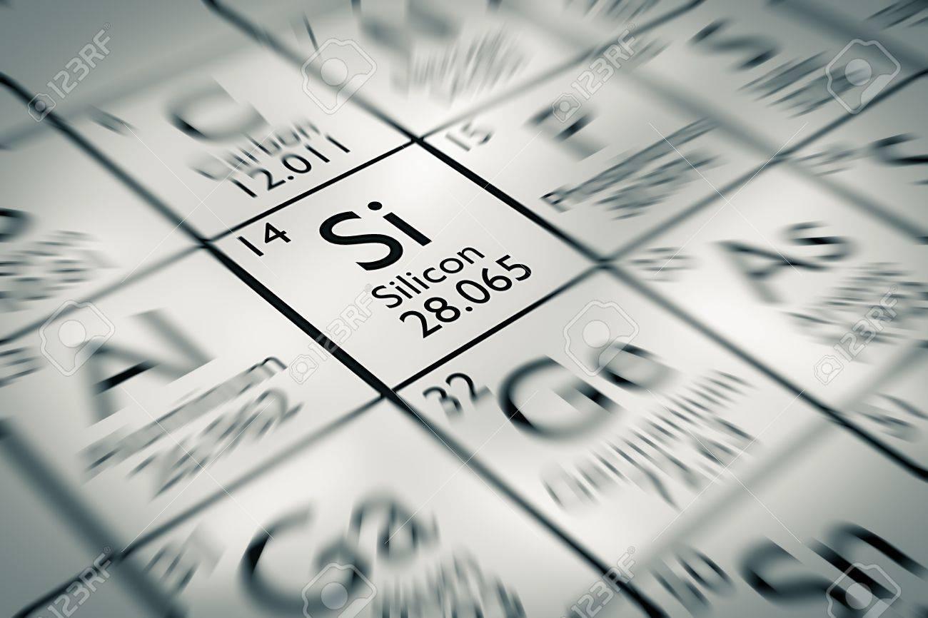 Centrarse en silicio elemento qumico de la tabla peridica de centrarse en silicio elemento qumico de la tabla peridica de mendeleiev foto de archivo 61258884 urtaz Choice Image
