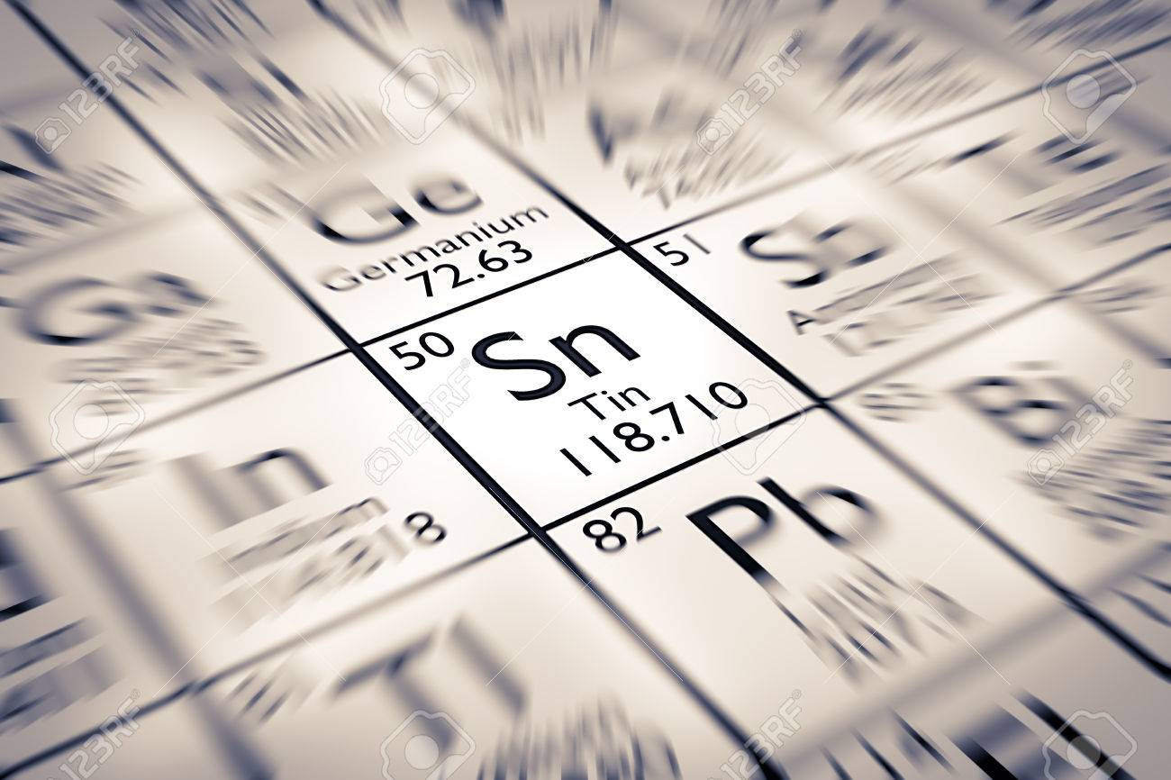 Focus on tin chemical element from the mendeleev periodic table focus on tin chemical element from the mendeleev periodic table stock photo 61258897 urtaz Gallery
