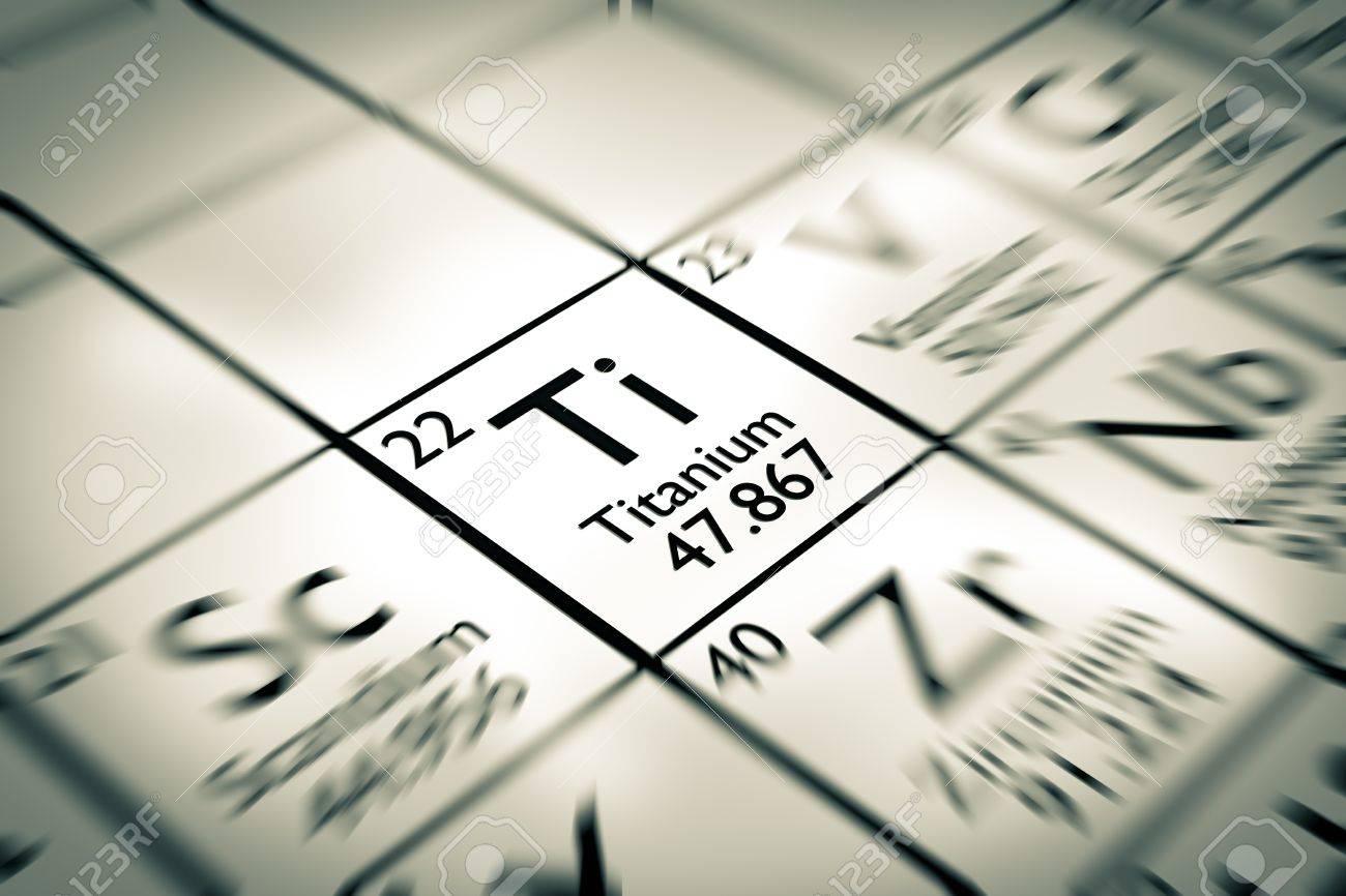 Centrarse en titanio elemento qumico de la tabla peridica de centrarse en titanio elemento qumico de la tabla peridica de mendeleiev foto de archivo 61258899 urtaz Images