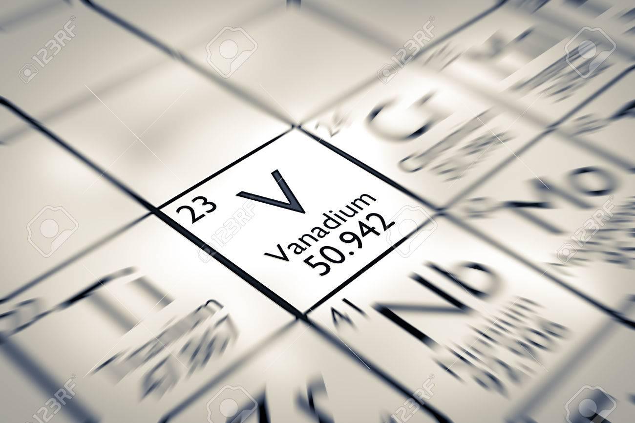 Centrarse en vanadio elemento qumico de la tabla peridica de centrarse en vanadio elemento qumico de la tabla peridica de mendeleiev foto de archivo 61258900 urtaz Image collections