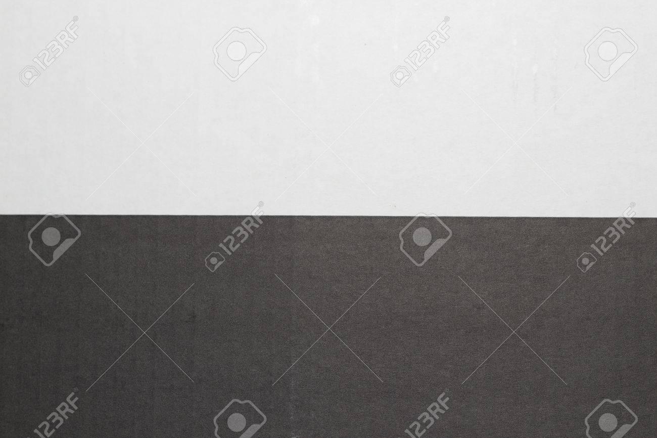 Caja De Cartón Textura En Blanco Y Negro Divide Por La Mitad El ...