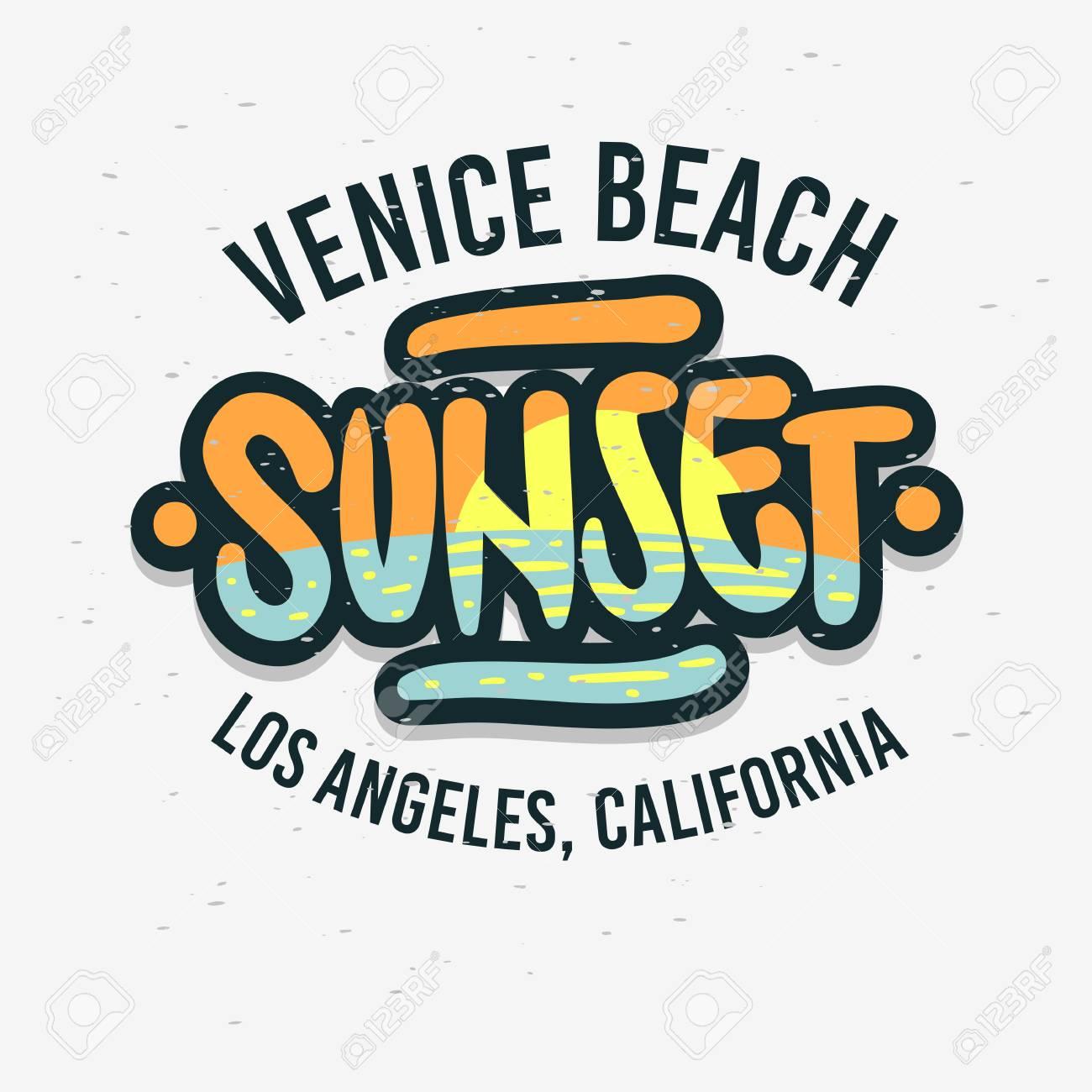 LA Beach Shirt Venice Los Angeles