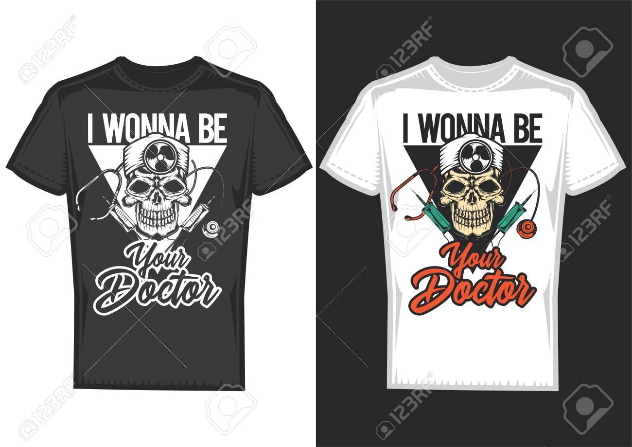 Doctor Skull t-shirt