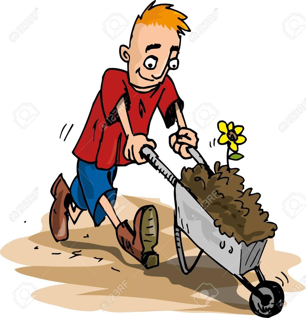 Cartoon Pics of Gardening Cartoon Gardener Cartoon