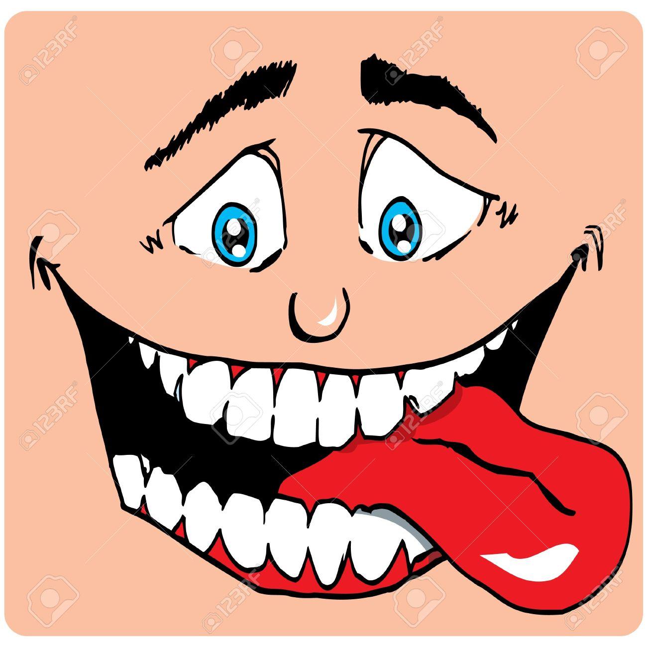 9701397-Cartoon-Face-of-man-with-a-big-m