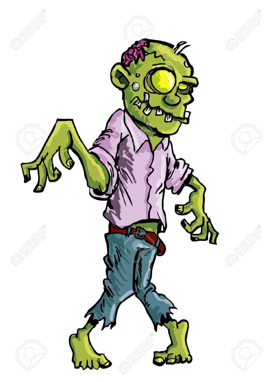Image De Zombie Dessin