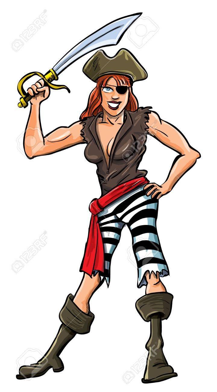 Sexy lady cartoon