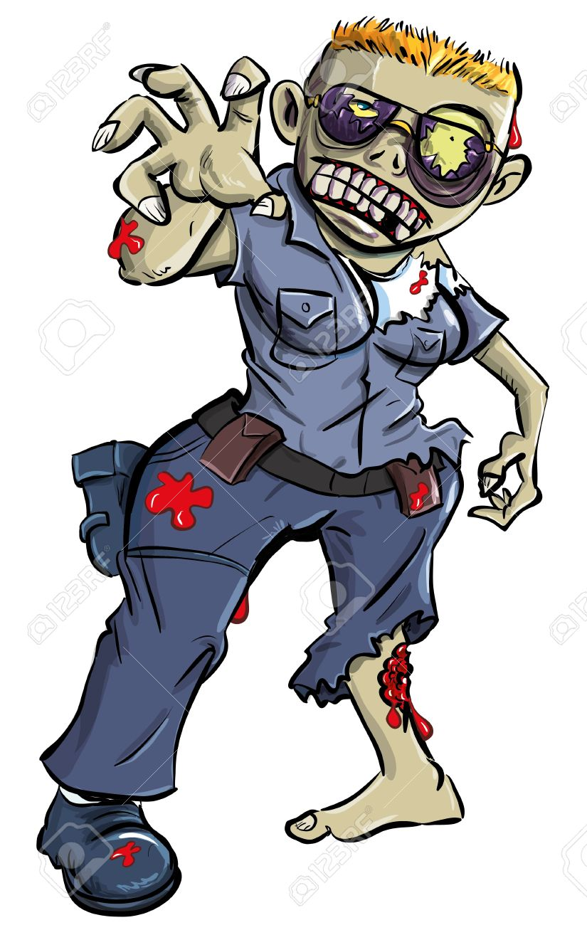 Cartoon zombie woman sex photo