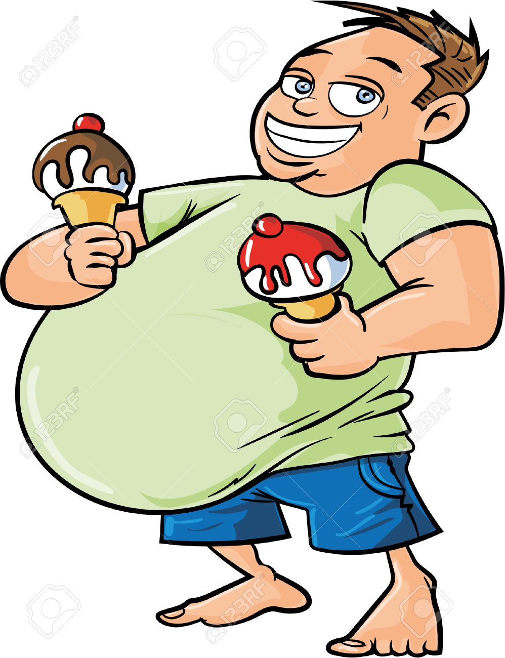 Image result for body fat cartoon