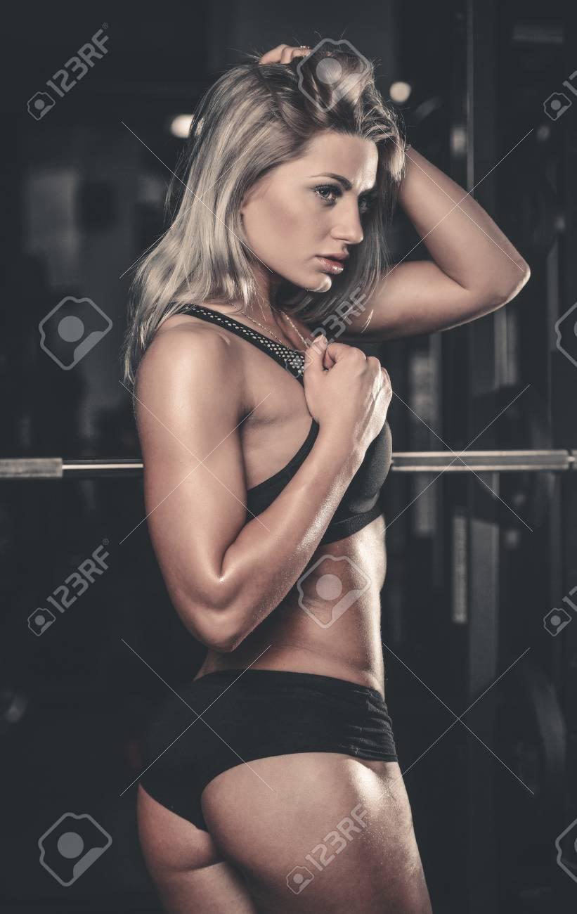 Erotic fitness model