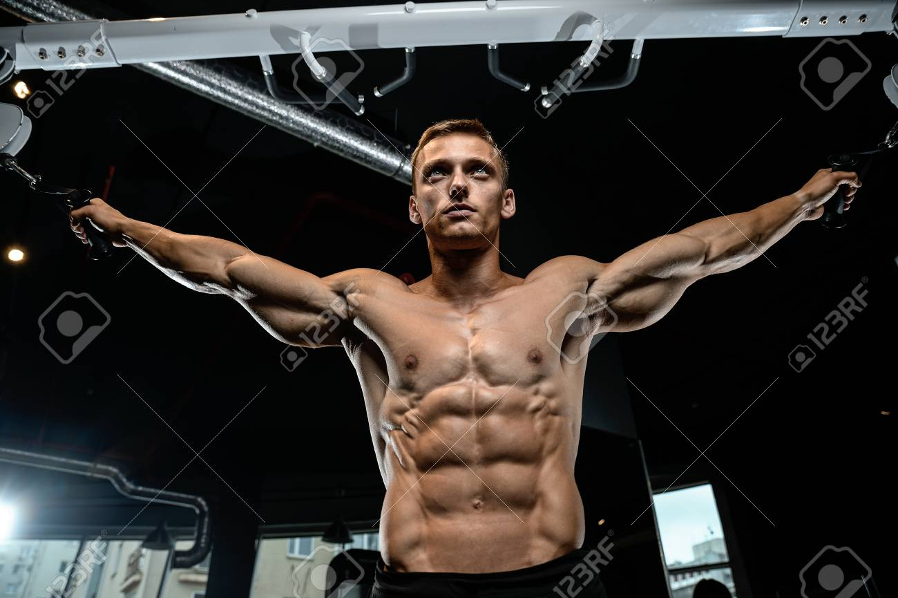 How to pump up the pectoral muscles 40