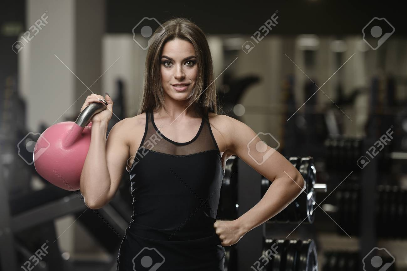 Athletic strong sexy women