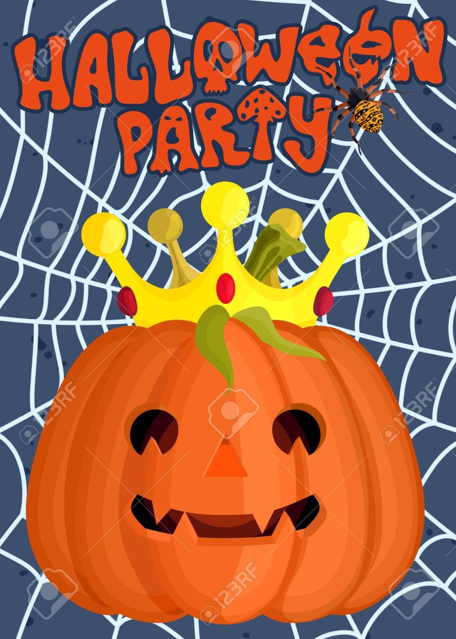 Affiche Publicitaire Daffiches Pour Halloween Vacances Drôle