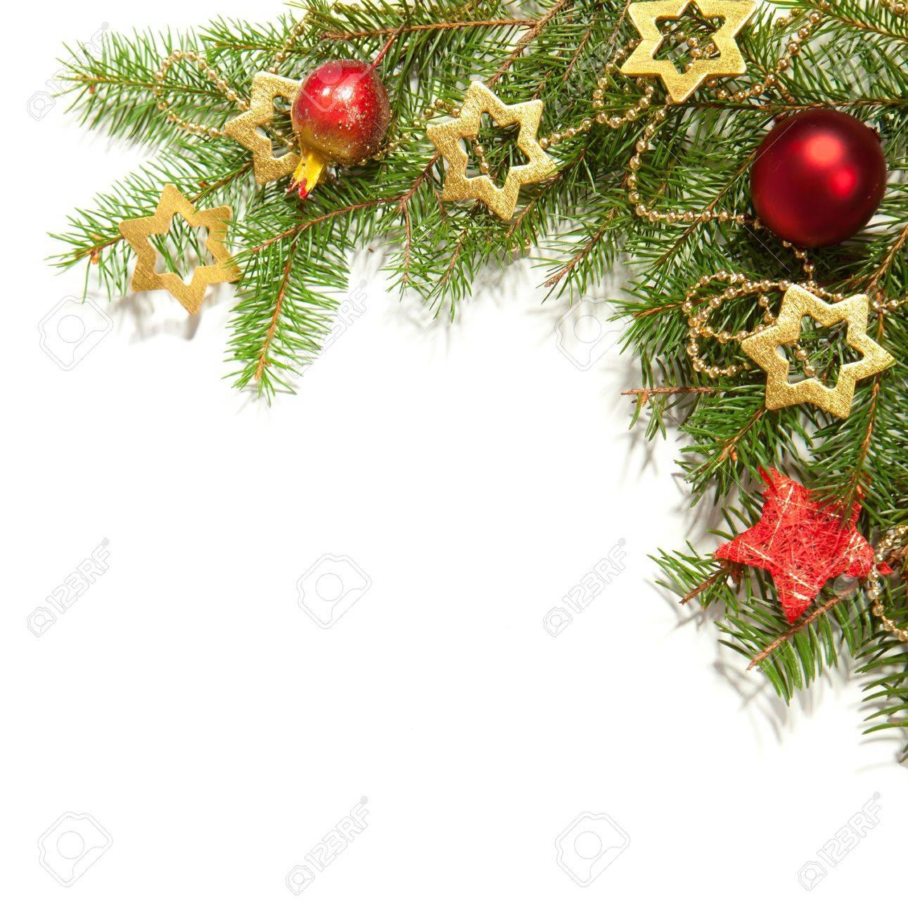 クリスマス枠白で隔離 の写真素材画像素材 Image 15808939