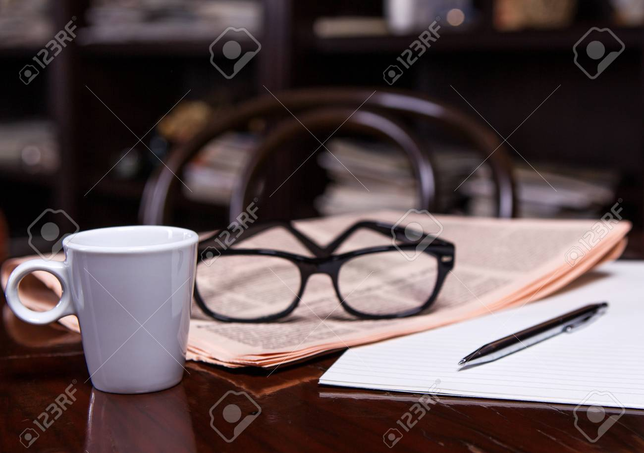 e720ad0354fa Newspapers And Coffee Cup