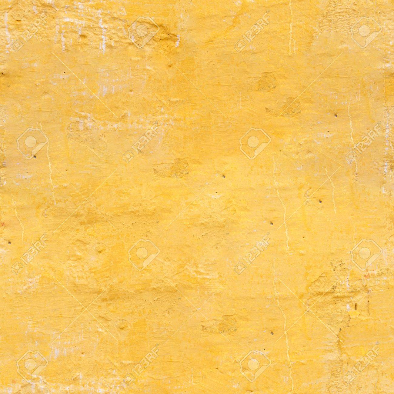 The Old Wall Of The Apartment House In Yellow Color. Texture.. Stock ...
