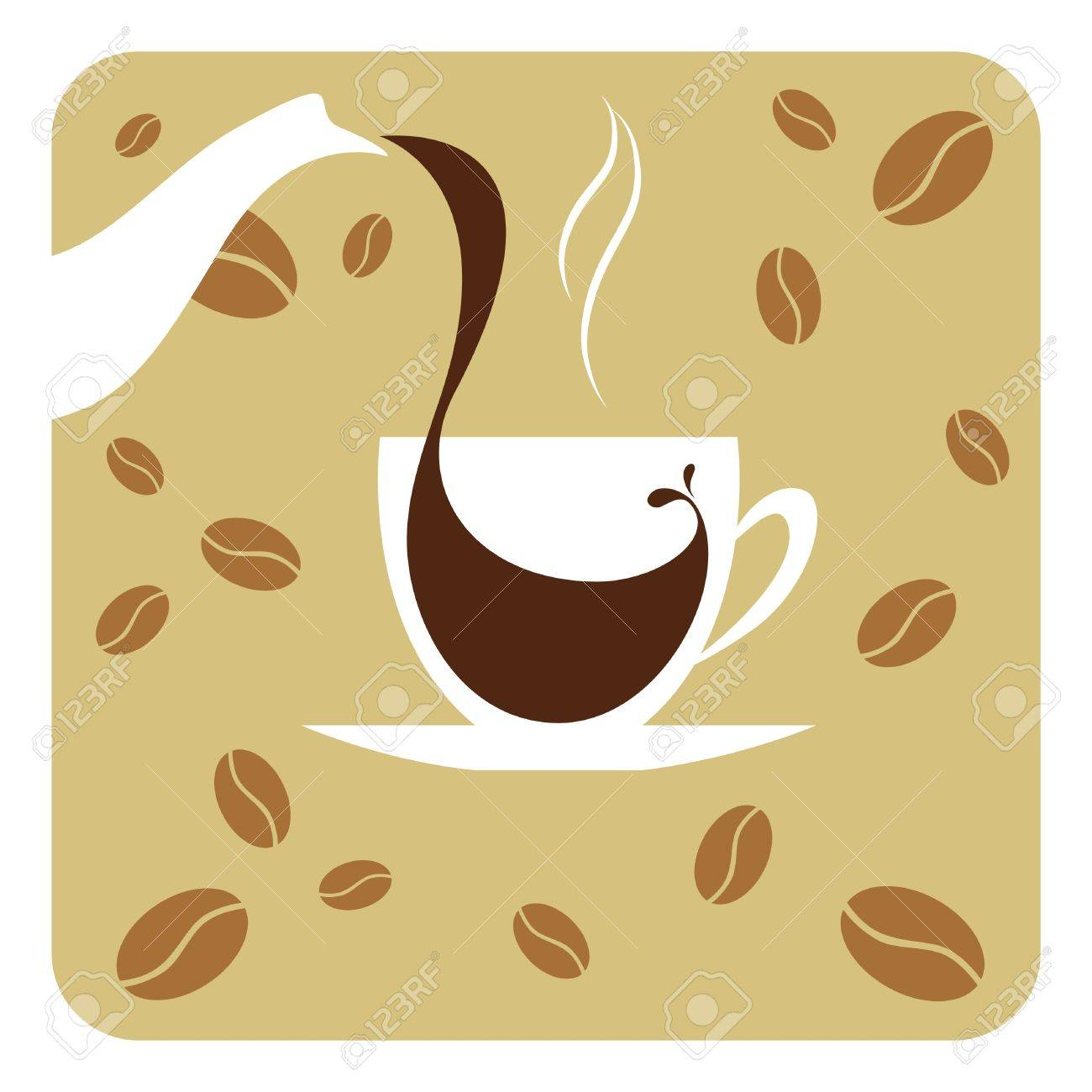 Vector illustration cup of coffee Stock Vector - 11446845