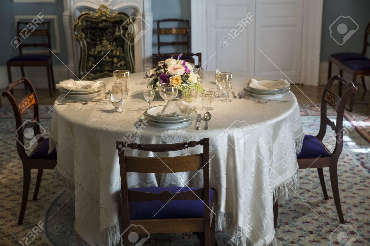 banque dimages style victorien salle manger en attendant les clients
