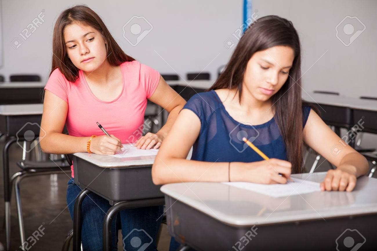 High School Cheating?