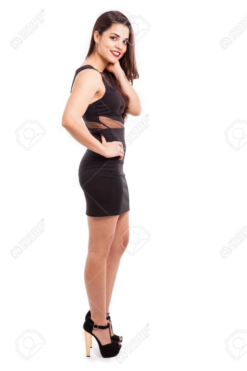 Beauties high heels in latin Goddess Bojana