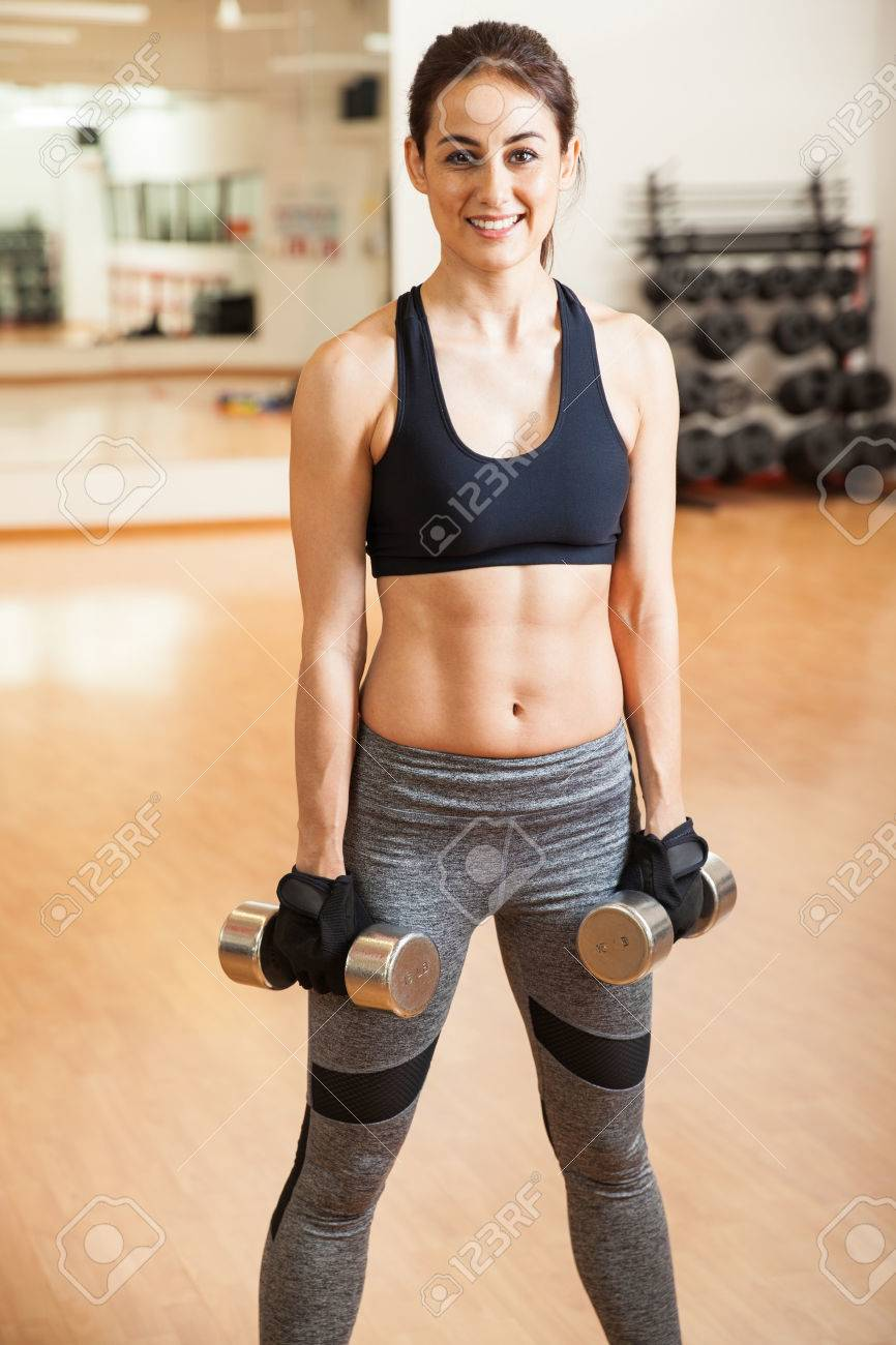 athletic and toned