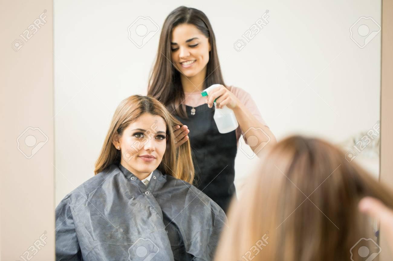 Friseur nass Frauen mit großen Schwänzen betrügen