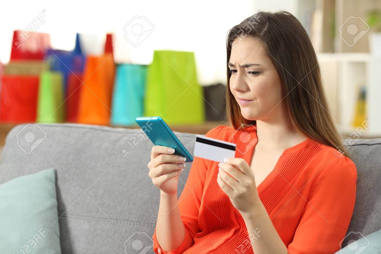 Sitting on a credit card