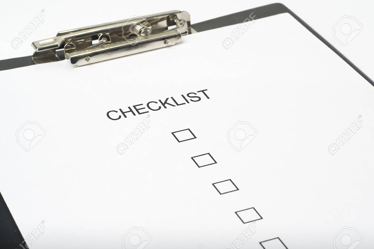 businessman filling out a questionnaire quality of service Stock Photo - 3713613