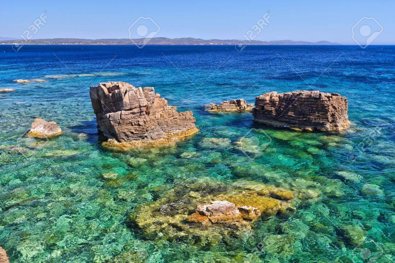 Costa sur de la isla de san pietro cerdea italia fotos costa sur de la isla de san pietro cerdea italia foto de archivo sciox Gallery
