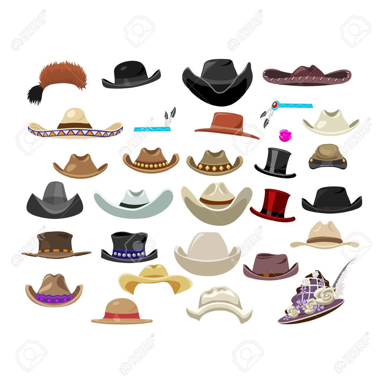 Large Set Of 29 Vintage Hats 750adf4c73c