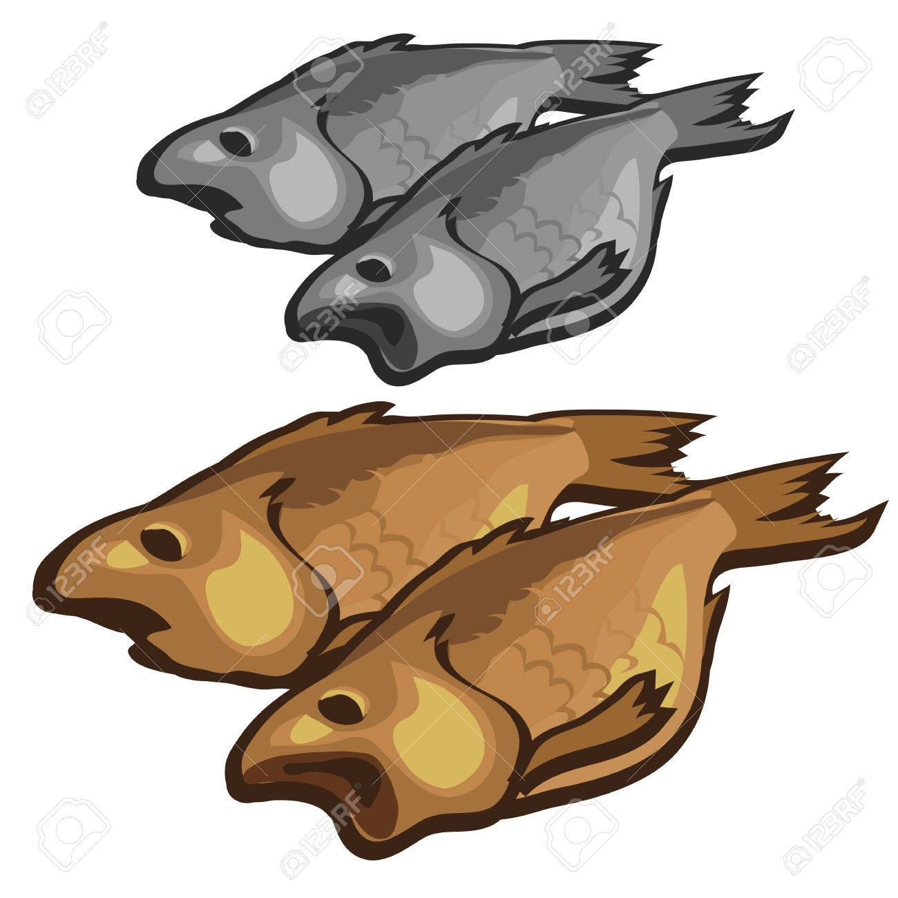 303 Dried Fish Stock Vector Illustration And Royalty Free Dried ... for Dried Fish Clipart  113cpg