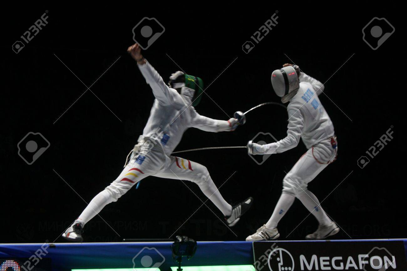 World Cadet and Junior Fencing Championships Moscow 2012 Stock Photo - 13062317