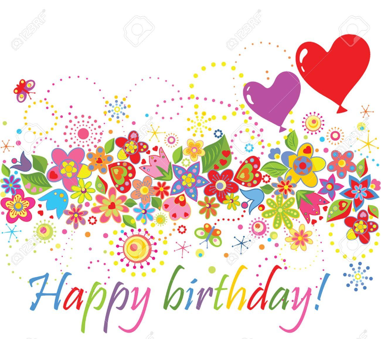 Happy birthday! Stock Vector - 18838391