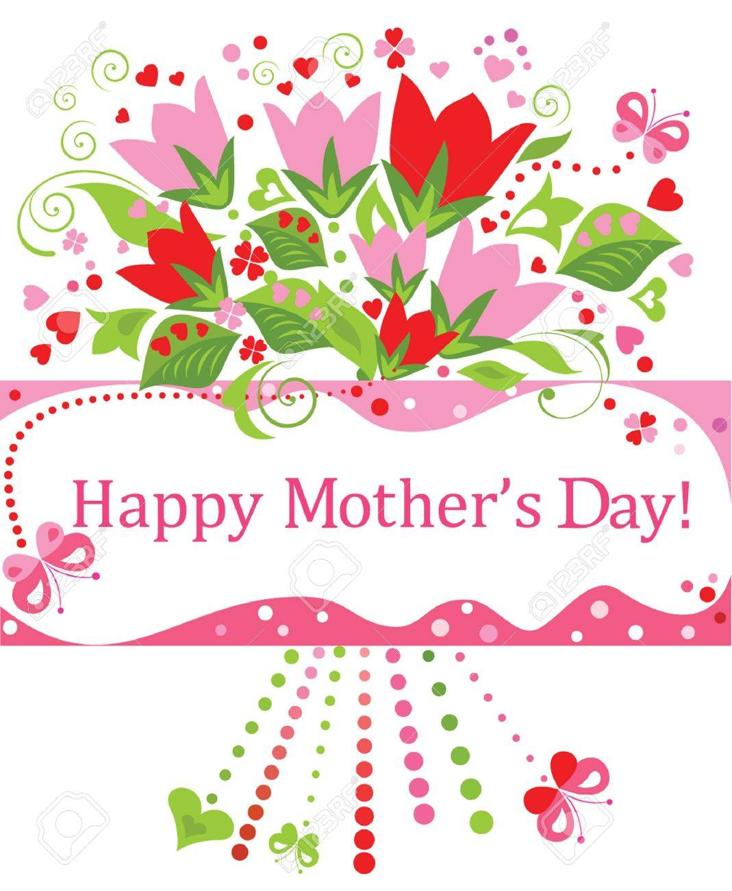 Greeting For Mothers Day Royalty Free Cliparts Vectors And Stock