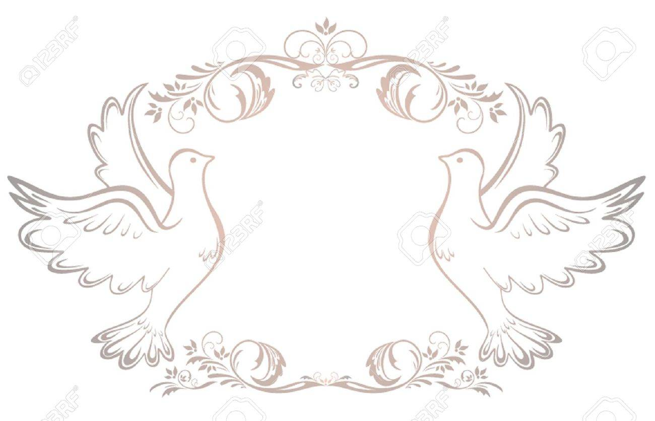Wedding Vintage Frame Royalty Free Cliparts, Vectors, And Stock ...