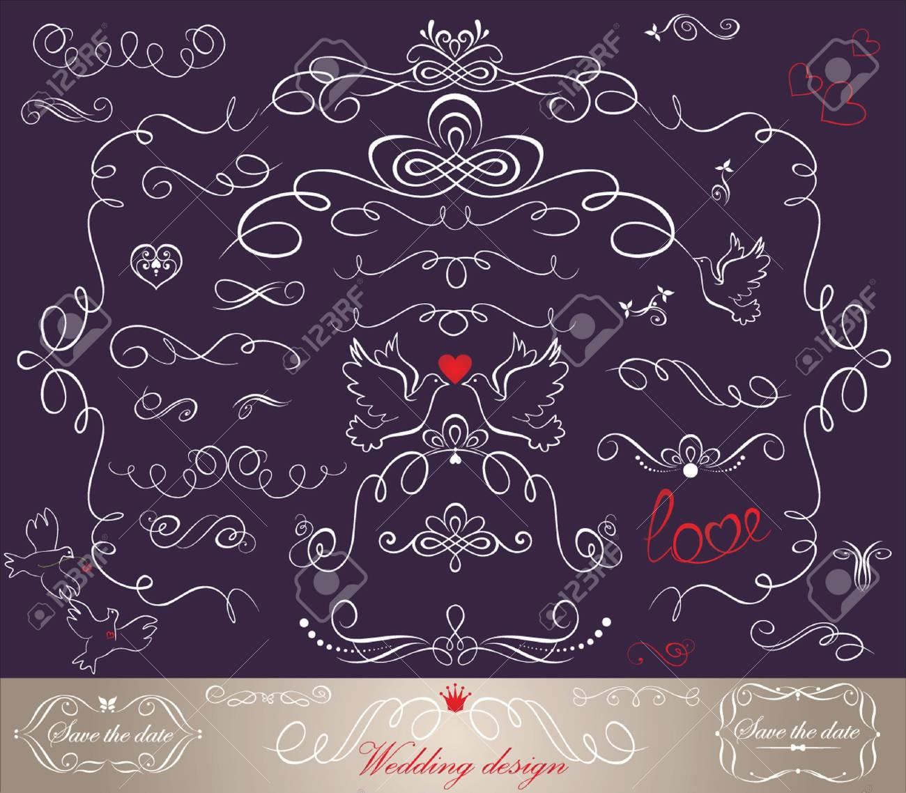 Wedding design Stock Vector - 18894032