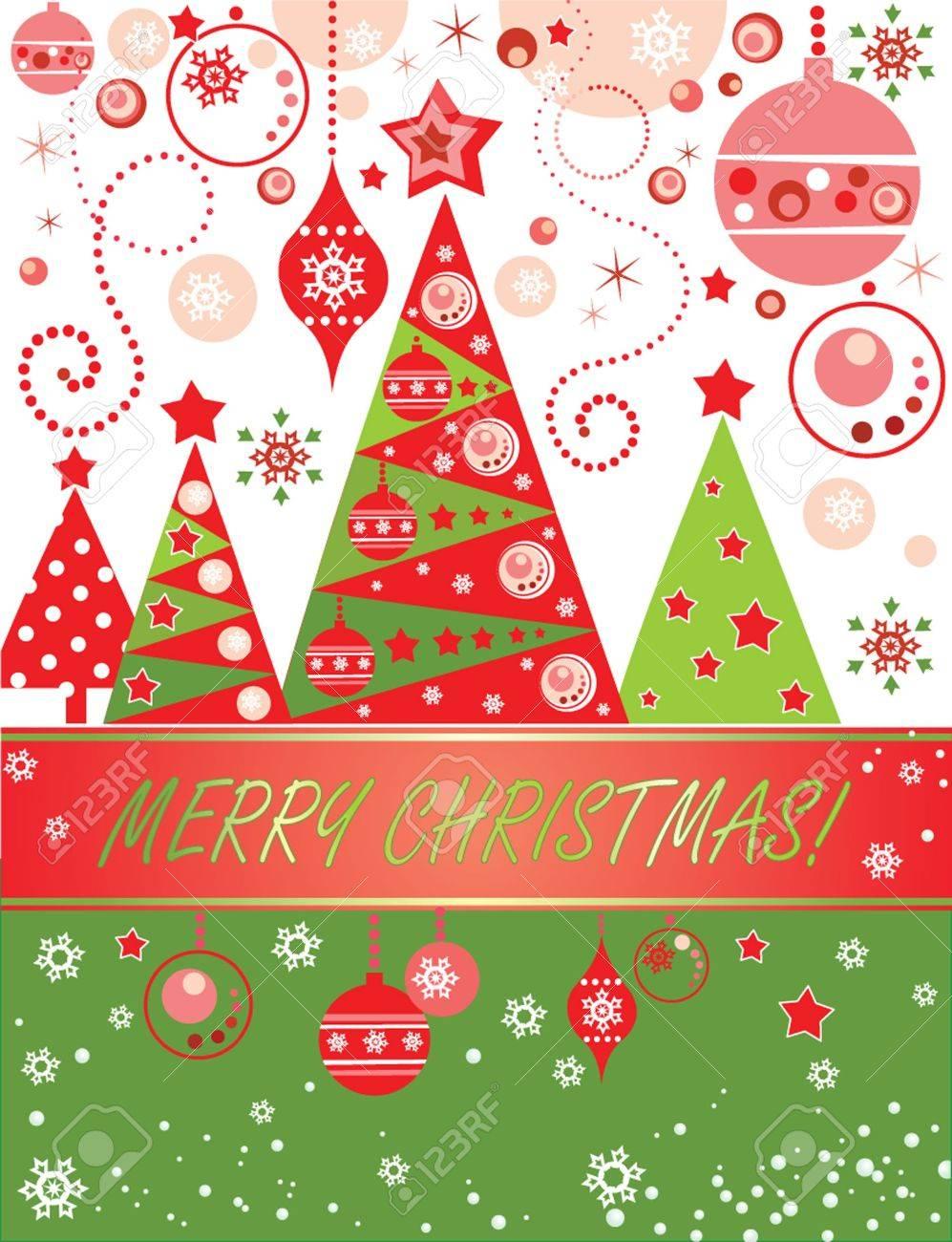 Christmas card Stock Vector - 18921566