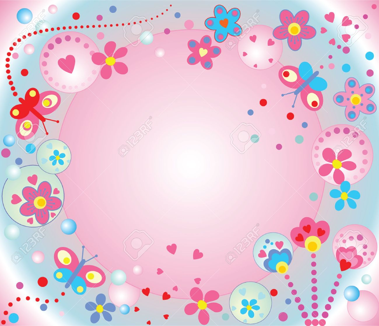 Abstract cute background Stock Vector - 19024286