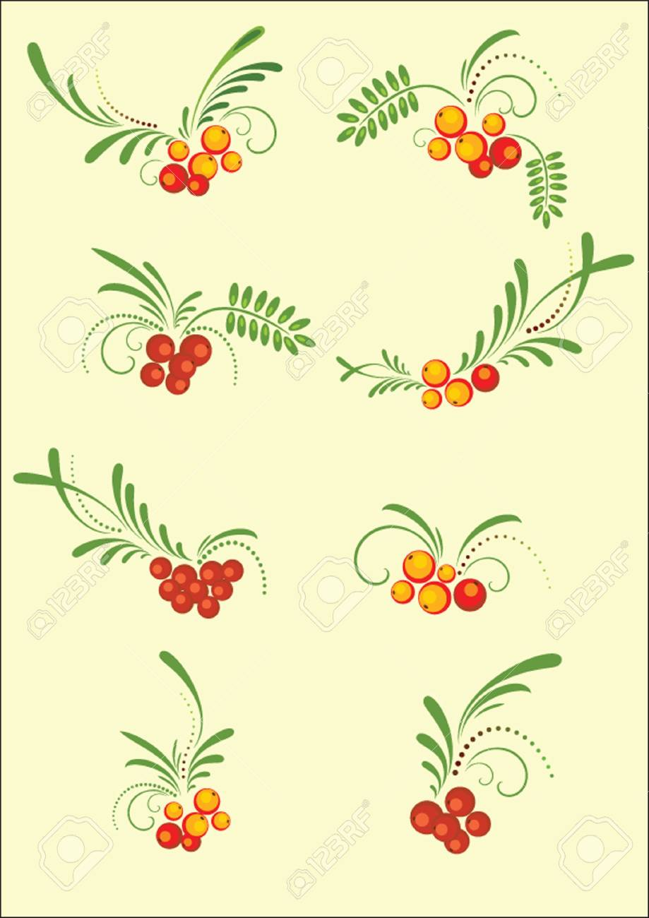 Vintage autumn pattern for design. See my gallery for more. Stock Vector - 19024351